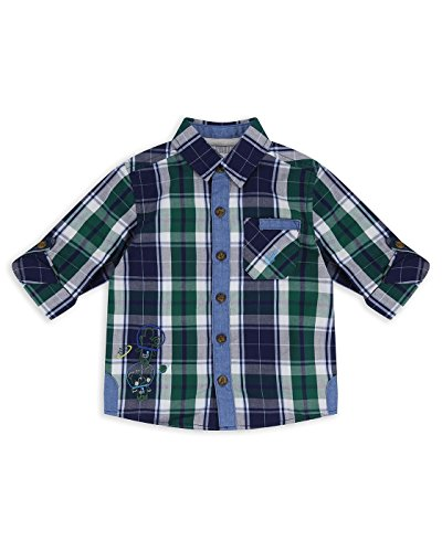 The Essential One - Bebé Infantil Niños Camisa Manga Larga - Verde - 18-24m - EOT480