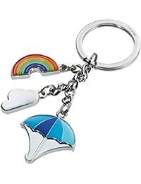 Troika RAINBOW, Porte-clés  multicolore Motiv: RAINBOW & Co Charms