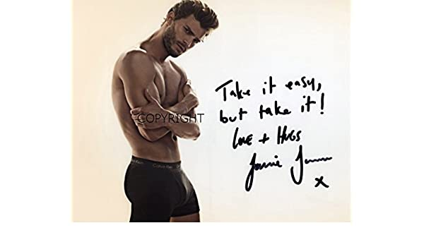 CERT PRINTED AUTOGRAPH LIMITED EDITION 50 SHADES OF GREY SIGNED PHOTOGRAPH