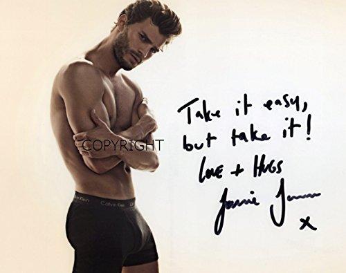Limited Edition Jamie Dornan 50Shades unterzeichnet Foto Autogramm signiertsigniertes (Filme Auf Dvd, 50 Shades Of Grey)
