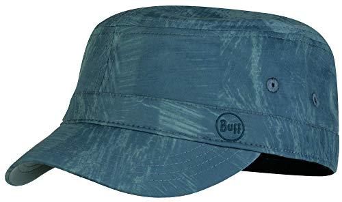 Camouflage Military Style Cap (Buff Military Cap Militär-Cappy + Ultrapower Schlauchtuch | UV-Schutz | Armee Schirmmütze | Militär-Cappy | Feldmütze | Kappe | Rinmann Pewter Grey S/M - 119518.906.20.00)