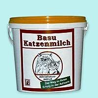 BASU Katzenmilch Aufzuchtmilch für Katzen Kätzchen Muttermilch-Ersatz 600 g Eimer