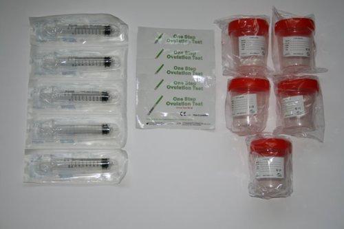 Deluxe Fertility Kit Set zur Befruchtung -