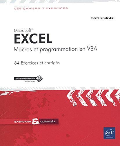 Excel - Macros et programmation en VBA
