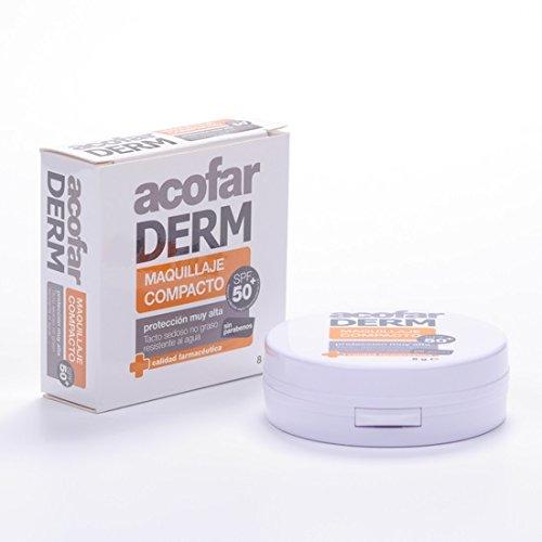 ACOFARMA F50+ maquillaje compacto