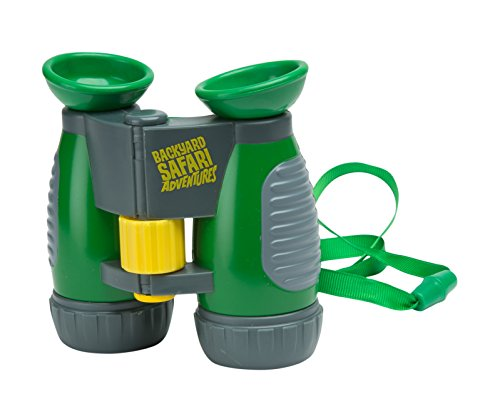 Backyard Safari Plastic Summit Binoculars (Green)