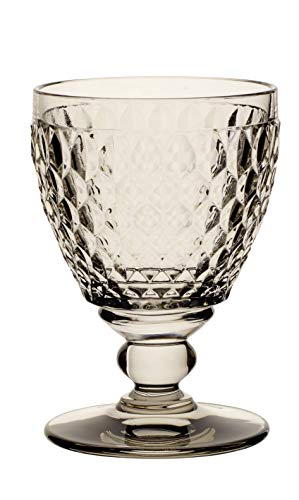Villeroy & Boch Boston Coloured Verre à vin blanc Smoke, 230 ml, Cristal, Gris