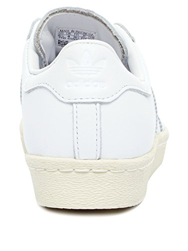 Adidas Superstar 80's 3d Metal Toe Damen Sneaker Weiß - 3