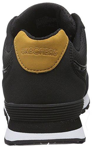 Skechers Damen Og 82Smooth Moovez Sneakers Schwarz (Blk)