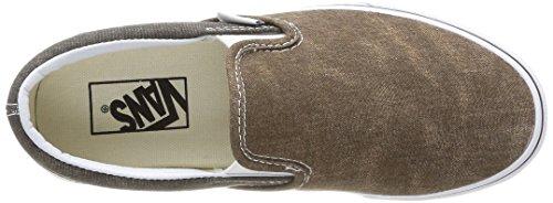 Vans - U Classic, Sneakers Unisex Multicolore (multicolore (noir / Paume Desert))