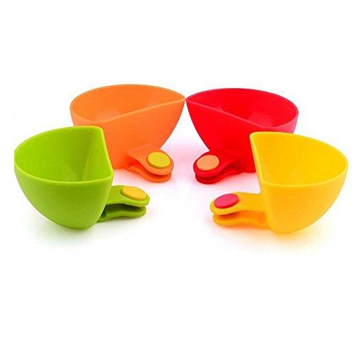 Die Küche kann Schalen halten und Würze Gerichte der Schale und Saucen die Schüsseln und Würzen Speisen Salat Gewürz - Papier Die Hellen Gelben Platten