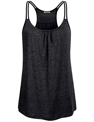 Hibelle-Womens-Scoop-Neck-Cute-Racerback-Yoga-Workout-Tank-Top