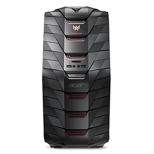 Acer Predator G6-710 Desktop-PC (Intel Core i5-7600K, 8GB RAM, 256GB PCIe SSD, 1.000 GB HDD, GeForce GTX 1060 3GB VRAM, DVD, Win 10) - All I5 In One Acer