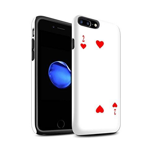 Coque Brillant Robuste Antichoc de STUFF4 / Coque pour Apple iPhone 4/4S / Joker Design / Cartes à Jouer Collection 2 de Cour