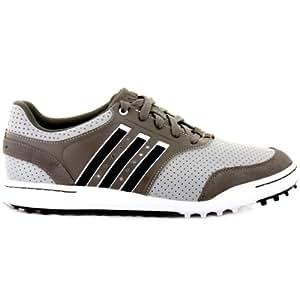 Adidas Mens Adicross III Spikeless Golf Shoes Mens 7 Grey/White Wide Mens 7 Grey/White Wide
