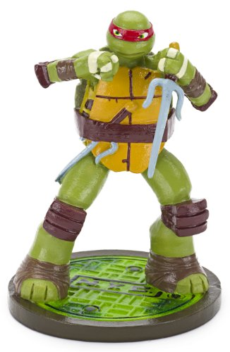 Penn-plax Teenage Mutant Ninja Turtles Raphael Aquarium Ornament, Mini