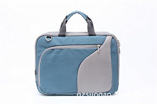 Fornitura di fabbrica casual borsa a tracolla fashion business zaino borsa casual 14 pollici borsa per computer, blu, 12 pollici Blue36cm