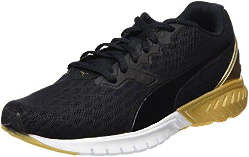 Puma Ignite Dual Gold Wn'S, Scarpa da Running Woman (Race), Nero/Oro, 5 EU