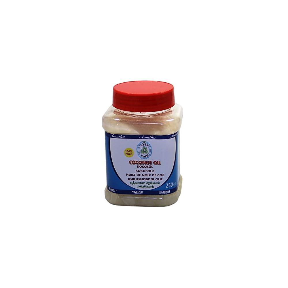 250ml Amutha Brand 100 Reines Kokosl Cocosl Kokosnussl Pure Coconut Oil