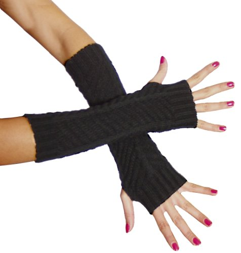 BRUBAKER Armstulpen Handschuhe Strick - 3