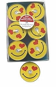 Karaloon l10020-30-Diseño de Luces Smile Heart, 30Unidades