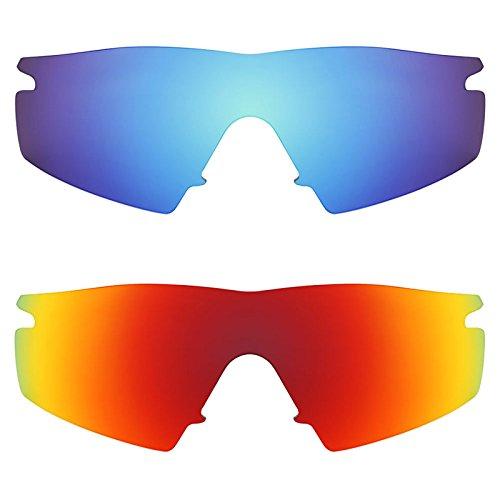 Revant Ersatzlinsen für Oakley M Frame Strike Polarisiert 2 Paar Kombipack K002
