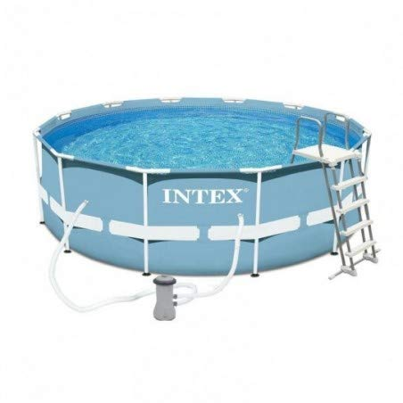 INTEX Kit piscine Prism Frame ronde 3.66 x 1.22 m