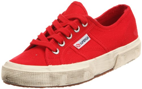 Superga Le Superga 27502750-cotustonewash Heritage Unisex Red