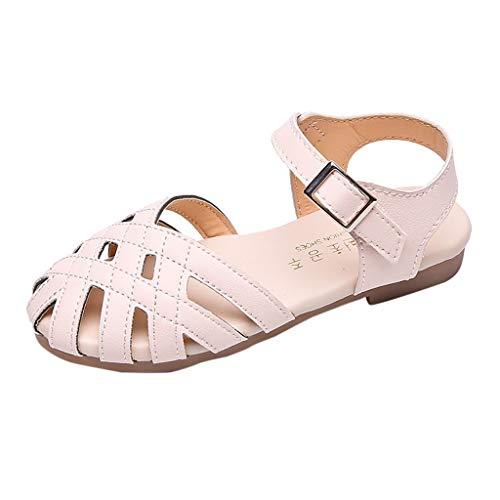 Vovotrade 2019 Sommer neue Mädchen hohlen Schuhe Kindersandalen römische gewebte Schuhe koreanische weiche untere wilde Sandalen, klassisch wild