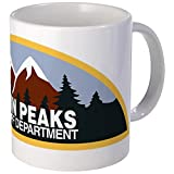 CafePress - Twin Peaks Sheriff Department - Coffee Mug, Novelty Coffee Cup by CafePress
