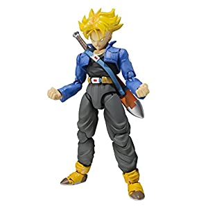 Bandai Tamashii Nations S.H. Figuarts Trunks Figura de Acción Color de Edición Premium 5