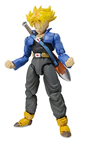 Bandai Tamashii Nations S.H. Figuarts Trunks Figura de Acción Color de Edición Premium 1