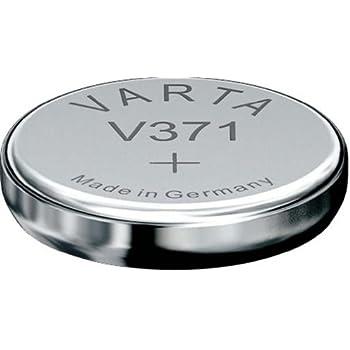 50 x Varta V370 SR920W SR69 SR920 1,55V UhrenBatterien  Silberoxid Knopfzelle