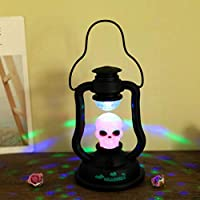 chagana Halloween Skull lámpara Luz Portátil navideñas Halloween decoración casa cocina iglesia Mood Lights Terrore
