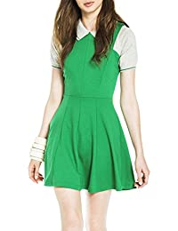 Kling Women's Lindsay Green Sleeveless Dress