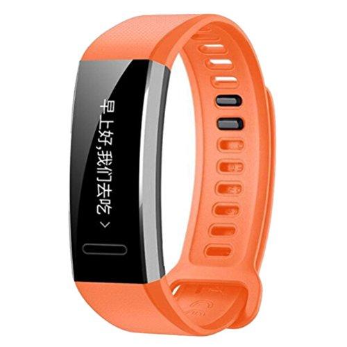 selezione mondiale di acquista autentico sconto fino al 60% YuStar cinturino fascia per Huawei Band 2/2 Pro, morbido silicone  regolabile sport orologio Band Wristband di ricambio per Huawei Band 2/2  Pro Smart ...