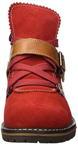 Andrea Conti Damen 3002727 Stiefel Rot (rot/cognac)