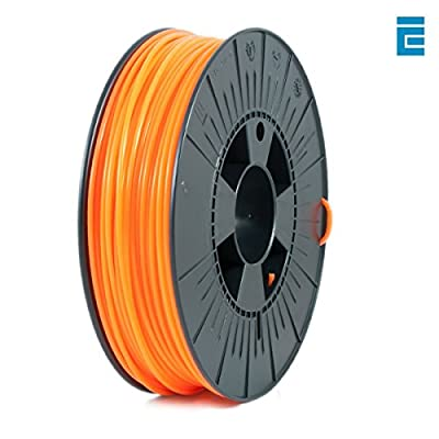ICE FILAMENTS ICEFIL1ABS046 ABS Filament, 2,85 mm, 0,75 kg, Fluo Obstinate Orange