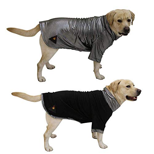 Pet Elf Abrigo Grande para Perro, Reflectante de Calor, de Alta tecnología, cálido, de Doble Cara, para otoño e Invierno, Ropa para Mascotas, Chaqueta L-3XL