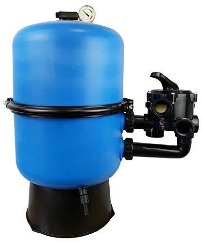 well2wellness Pool Sandfilter Behälter Sandy.Split 2-geteilt Ø 500 mm mit 6-Wege-Ventil