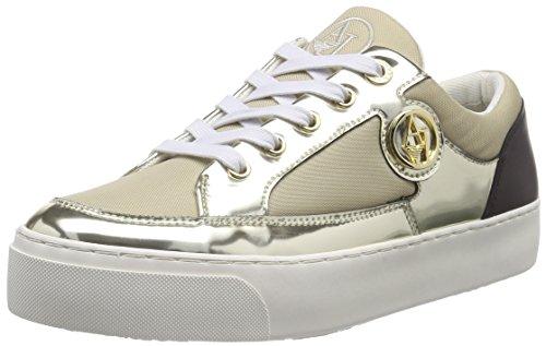 Armani JeansC55A838 - Sneaker Donna, Beige (Beige (BEIGE 51)), 36