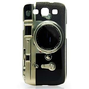 CASEiLIKE ® - Retro Vintage Classic Camera Glossy Snap on Back Cover Gehäuse für Samsung Galaxy S3 / S 3 / S III / i9300 – mit Displayschutzfolie 1pcs.