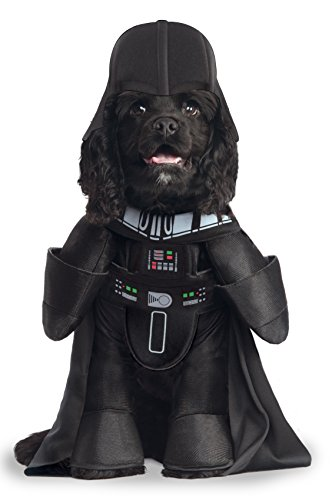 Star Wars Disfraz Darth Vader DLX para Mascota, M (Rubie'S Spain 885900-M)