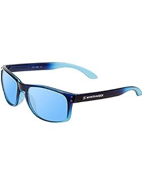 ¡New 2017! Gafas Sol Sunglasses UNISEX Northweek SERIE BOLD GRADIANT AZUL - lente AZUL POLARIZADA