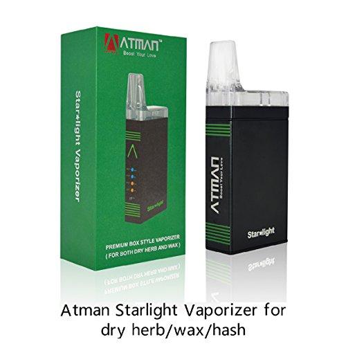 Vaporizador de hierbas, Atman Starlight vaporizador de hierbas para la cera/hash TC Box Mod sistema...