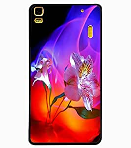 ColourCraft Flowers Design Back Case Cover for LENOVO K3 NOTE