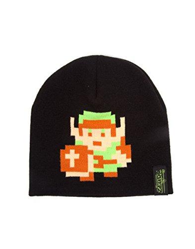 Zelda–muts–8bits Link Pixeles–Beanie