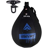 Aamron ® SBR-A2B - Bolso de Boxeo y Saco de Boxeo Giratorio para Entrenamiento de Artes Marciales Mixtas, Color Azul, Tamaño Talla única