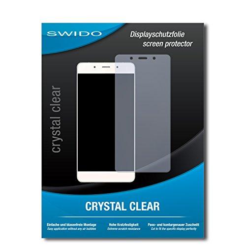 SWIDO Bildschirmschutz für Hisense C1 [4 Stück] Kristall-Klar, Hoher Härtegrad, Schutz vor Öl, Staub & Kratzer/Schutzfolie, Bildschirmschutzfolie, Panzerglas Folie