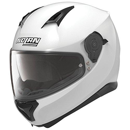 Preisvergleich Produktbild Nolan N87 SPECIAL PLUS Integralhelm Motorrad Polycarbonat n-com - Pure weiss Größe 3XL